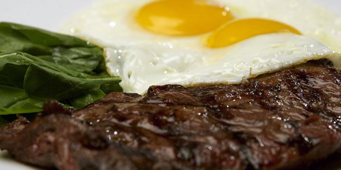 Steak-eggs