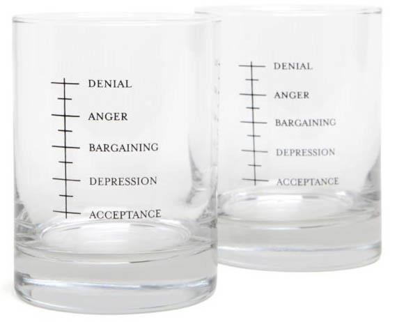 Denial anger bargaining