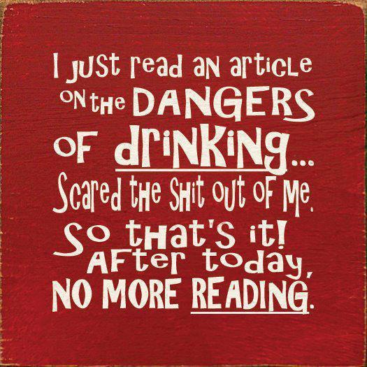 Dangers of drinking