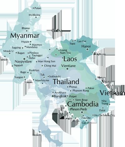Myanmar-cambodia-thailand-vietnam-laos-map