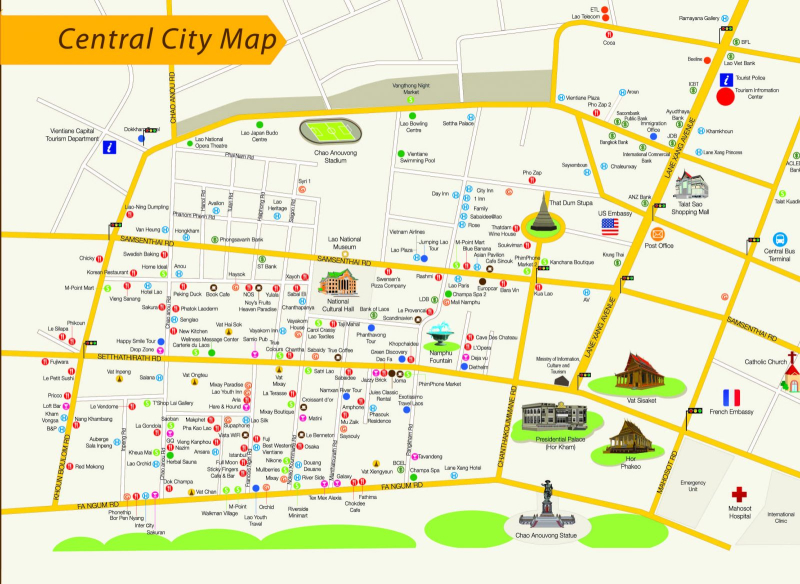 Bigger-Vientiane City Map-02
