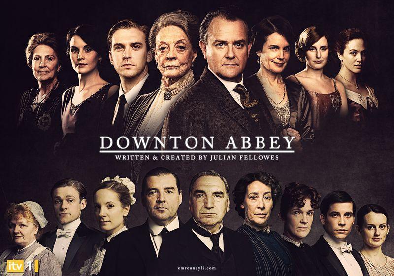 Downton_abbey___promotional_poster_by_emreunayli-d4z89pw
